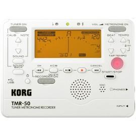 ACCORDEUR METRONOME ENREGISTREUR KORG BLANC TMR50 PW