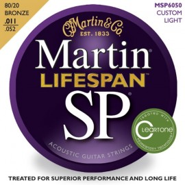 MARTIN SP LIFESPAN BRONZE CUSTOM LIGHT 11/52 JEU