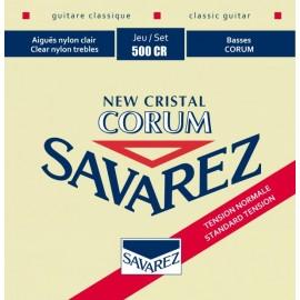 SAVAREZ NEW CRISTAL CORUM ROUGE JEU 500CR