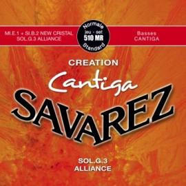 SAVAREZ CANTIGA CREATION TENSION NORMALE  JEU 510MR