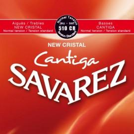 SAVAREZ CANTIGA NEW CRISTAL ROUGE JEU 510CR