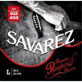 SAVAREZ FOLK PHOSPHORE BRONZE LIGHT 12/53 JEU A140L