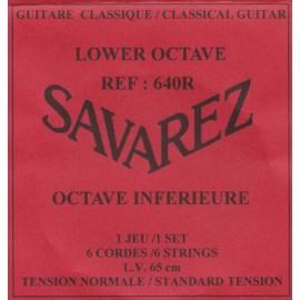 SAVAREZ OCTAVE INFERIEURE 65CM JEU LOW640R