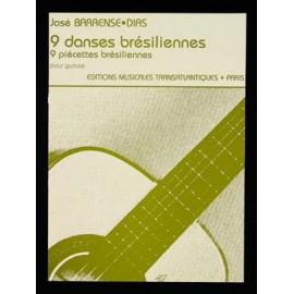 BARRENSE-DIAS 9 DANSES BRESILIENNES ETR1674
