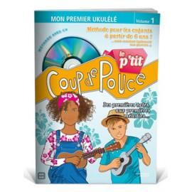 COUP DE POUCE UKULELE DES PETITS AVEC CD(PACK PARTITION + CD)