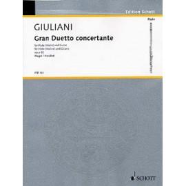 GIULIANI GRAN DUETTO CONCERTANTE OP.52 FTR104