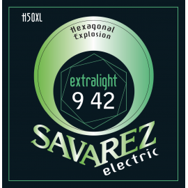 SAVAREZ ELECTRIQUE HEXAGONAL EXPLOSION X-LIGHT 09/42 JEU H50XL