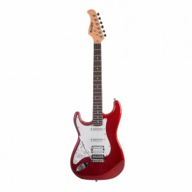 GUITARE ELECTRIQUE PRODIPE CANDY RED GAUCHER ST83 CAR