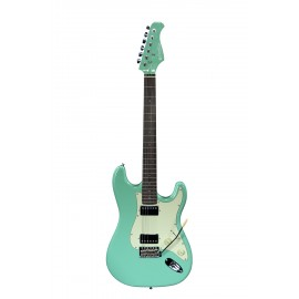 GUITARE ELECTRIQUE PRODIPE SURF GREEN ST2HRASG