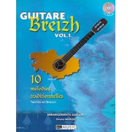 GUITARE BREIZH 1 HL27621 (PACK PARTITION CD)
