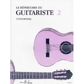 RIVOAL LE REPERTOIRE DU GUITARISTE 2 HL24962