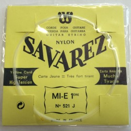 SAVAREZ CARTE JAUNE CORDE 1 MI 521J