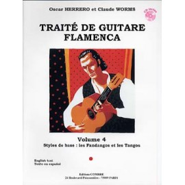 WORMS TRAITE DE GUITARE FLAMENCA 4 C6144