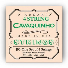D'ADDARIO CAVAQUINHO 4 CORDES JEU CDDJ93