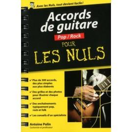 POLIN ACCORDS DE GUITARE POP/ROCK POUR LES NULS