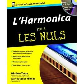 YERXA / MILTEAU L'HARMONICA POUR LES NULS + CD