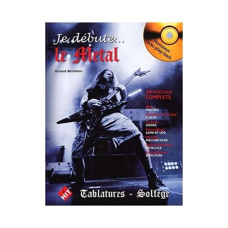 MICHIELON JE DEBUTE LE METAL + CD HIT91019