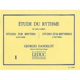 DANDELOT ETUDE DU RYTHME VOL.1 AL18890