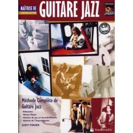 FISHER GUITARE JAZZ MAITRISE DE L'IMPROVISATION MB165 (PACK PARTITION + CD)