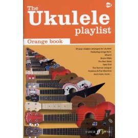 UKULELE PLAYLIST ORANGE BOOK FA536166