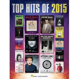 TOP HITS OF 2015 PIANO VOCAL GUITARE HL150033