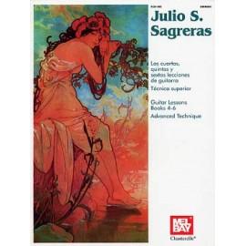 SAGRERAS GUITAR LESSONS 4 A 6 ECH882