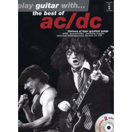 PLAY GUITAR WITH ACDC BEST OF +CD (PACK)