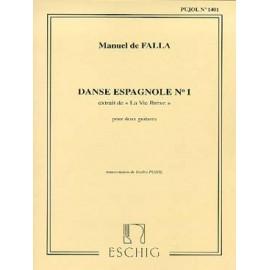 DE FALLA DANSE ESPAGNOLE N°1 ME6950