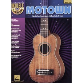 UKULELE MOTOWN PLAY ALONG 10 + CD