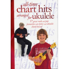 UKULELE ALL TIME CHART HITS 17 TITRES