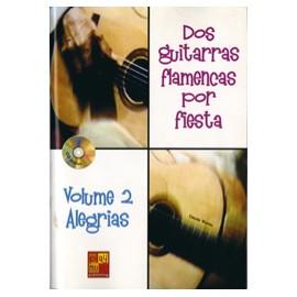 DOS GUITARRAS FLAMENCAS POR FIESTA 2 ALEGRIAS MF1997