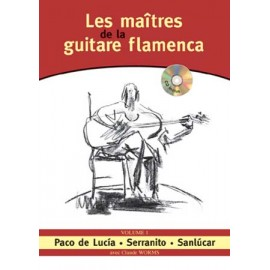 WORMS LES MAITRES DE LA GUITARE FLAMENCA 1 (PACK PARTITION+CD)