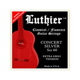 LUTHIER SET60 CONCERT SILVER X-HARD TENSION JEU
