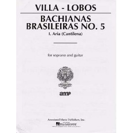 VILLA LOBOS BACHIANAS BRASILEIRAS N°5 AMP50223640