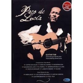 PACO DE LUCIA GUITAR TAB MB607