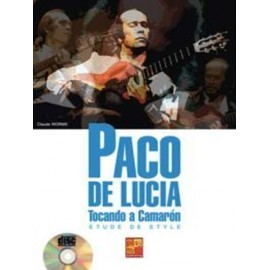 ETUDE DE STYLE PACO DE LUCIA MF2086 (PACK PARTITION+CD)