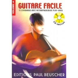 GUITARE FACILE VOLUME 1 (PARTITION+CD)