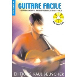 GUITARE FACILE VOLUME 2 (PACK PARTITION+CD)
