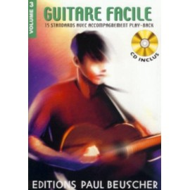 GUITARE FACILE VOLUME 3 (PACK PARTITION+CD)