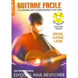 GUITARE FACILE SPECIAL LATIN VOLUME 5 (PACK PARTITION+CD)
