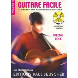 GUITARE FACILE VOLUME 7 SPECIAL ROCK (PACK PARTION+CD)