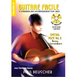GUITARE FACILE VOLUME 8 SPECIAL ROCK 2 (PACK PARTITION+CD)