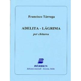 TARREGA ADELITA LAGRIMA BE1147