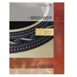 BROUWER CANCIONES REMOTAS DO432