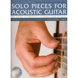 SOLO PIECES FOR ACOUSTIC GUITAR VOL.2 TAB (PACK PARTITION+CD)