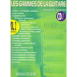 GANTER GAMMES GUITARE VOL 2 (PACK PARTITION+CD)