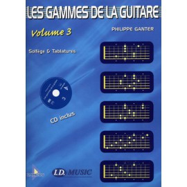 GANTER GAMMES GUITARE VOL 3