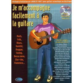 HUET JE M'ACCOMPAGNE FACILEMENT A LA GUITARE (PACK PARTITION+CD)