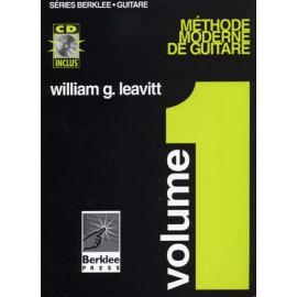 LEAVITT BERKLEE METHODE MODERNE GUITARE 1(PACK PARTITION+CD)