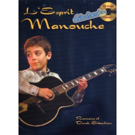 ROMANE ESPRIT MANOUCHE DEBUTANT (PACK PARTITION+CD)